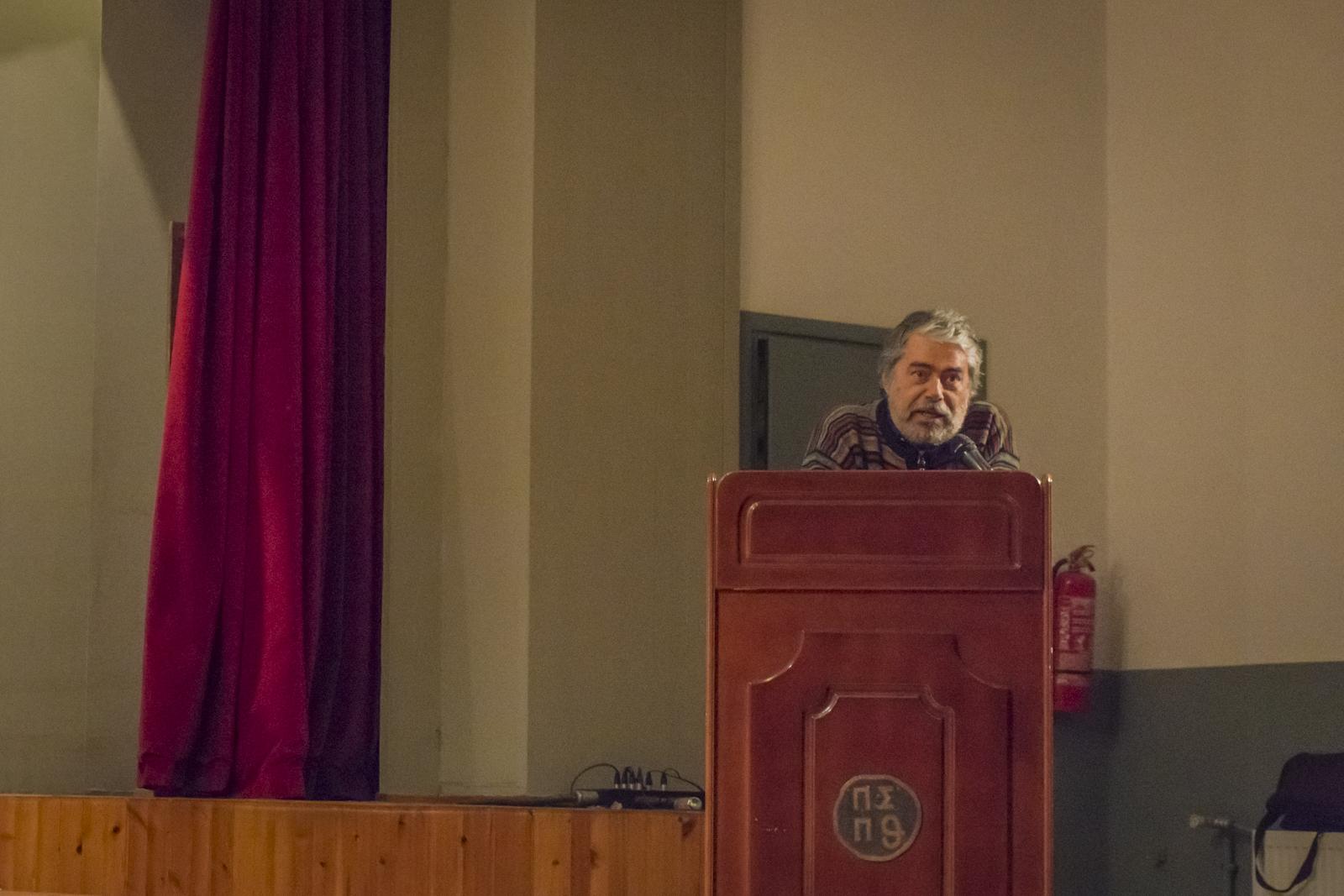 Καθηγητής Αρχιτεκτονικής ΑΠΘ Σαράντης Ζαφειρόπουλος